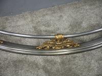 George IV Polished Steel & Brass Fender (5 of 6)