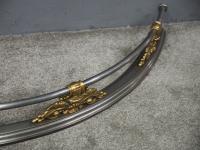 George IV Polished Steel & Brass Fender (6 of 6)