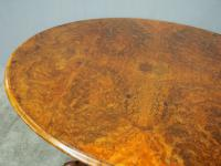 Large Victorian Burr Walnut Breakfast Table (7 of 13)