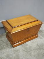 Regency Mahogany Sarcophagus Shaped Wine Cooler (9 of 11)