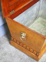 Regency Mahogany Sarcophagus Shaped Wine Cooler (5 of 11)