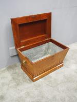 Regency Mahogany Sarcophagus Shaped Wine Cooler (2 of 11)