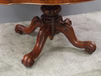Victorian Burr Walnut Breakfast Table (6 of 11)