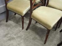 Set of 8 Regency Mahogany Dining Chairs (9 of 9)