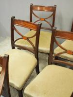 Set of 8 Regency Mahogany Dining Chairs (5 of 9)