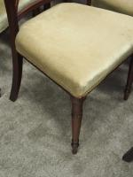 Set of 8 Regency Mahogany Dining Chairs (8 of 9)