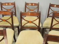 Set of 8 Regency Mahogany Dining Chairs (4 of 9)