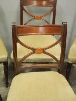 Set of 8 Regency Mahogany Dining Chairs (6 of 9)
