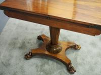 Pair of George IV Rosewood Card Tables (18 of 18)