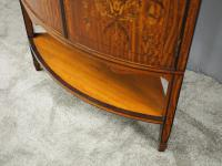 Victorian Satinwood Corner Cabinet On Stand (13 of 16)
