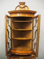 Victorian Satinwood Corner Cabinet On Stand (2 of 16)