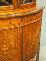Victorian Satinwood Corner Cabinet On Stand (11 of 16)