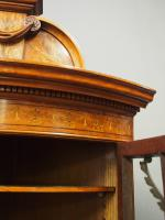Victorian Satinwood Corner Cabinet On Stand (5 of 16)