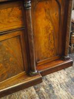 William IV Mahogany Breakfront Secretaire Bookcase (10 of 11)