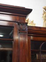 William IV Mahogany Breakfront Secretaire Bookcase (3 of 11)