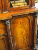 William IV Mahogany Breakfront Secretaire Bookcase (8 of 11)