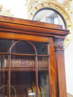 William IV Mahogany Breakfront Secretaire Bookcase (4 of 11)