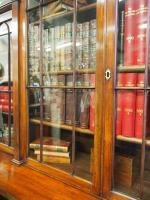 William IV Mahogany Breakfront Secretaire Bookcase (5 of 11)