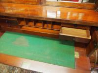 William IV Mahogany Breakfront Secretaire Bookcase (7 of 11)
