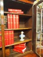 William IV Mahogany Breakfront Secretaire Bookcase (11 of 11)