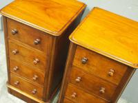 Pair of Victorian Mahogany Bedsides (5 of 11)