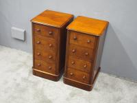 Pair of Victorian Mahogany Bedsides (2 of 11)