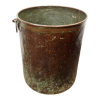 Large & Unusual Copper & Brass Barrel