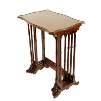 Nest of Four Mahogany Tables (4 of 8)
