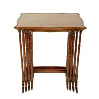 Nest of Four Mahogany Tables (5 of 8)