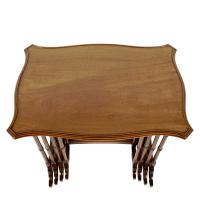 Nest of Four Mahogany Tables (2 of 8)