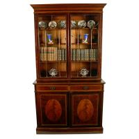Mahogany Bookcase by Waring & Gillows