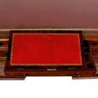 Fine Victorian Mahogany Partner's Desk (5 of 8)