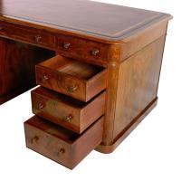 Fine Victorian Mahogany Partner's Desk (7 of 8)