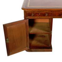 Fine Victorian Mahogany Partner's Desk (2 of 8)