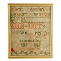 Georgian Wool Work Sampler