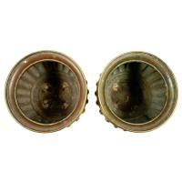 Pair of Large Edwardian Brass Planters (6 of 8)