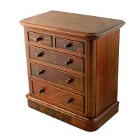 Victorian Miniature Chest of Drawers (8 of 8)