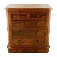 Victorian Miniature Chest of Drawers (7 of 8)