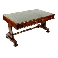 George IV Mahogany Writing Table