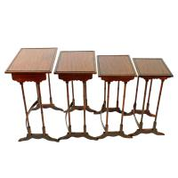 Nest of Four Regency Style Tables c.1900 (3 of 7)