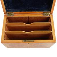 Georgian Converted Satinwood Caddy (5 of 8)