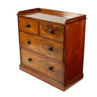Mid 19th Century Mahogany Chest of Drawers (2 of 7)