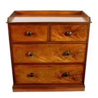 Mid 19th Century Mahogany Chest of Drawers (3 of 7)