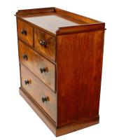 Mid 19th Century Mahogany Chest of Drawers (7 of 7)