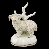 Pair of Victorian Staffordshire Sheep (3 of 8)