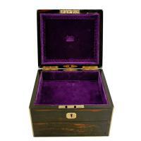 Coromandel & Brass Jewellery Box (4 of 9)
