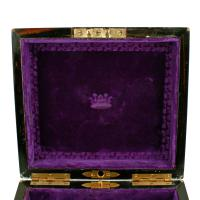 Coromandel & Brass Jewellery Box (5 of 9)