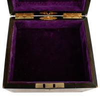 Coromandel & Brass Jewellery Box (7 of 9)