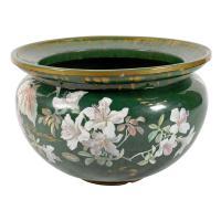 Large Clement Massier Pottery Jardinière