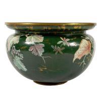 Large Clement Massier Pottery Jardinière (3 of 8)